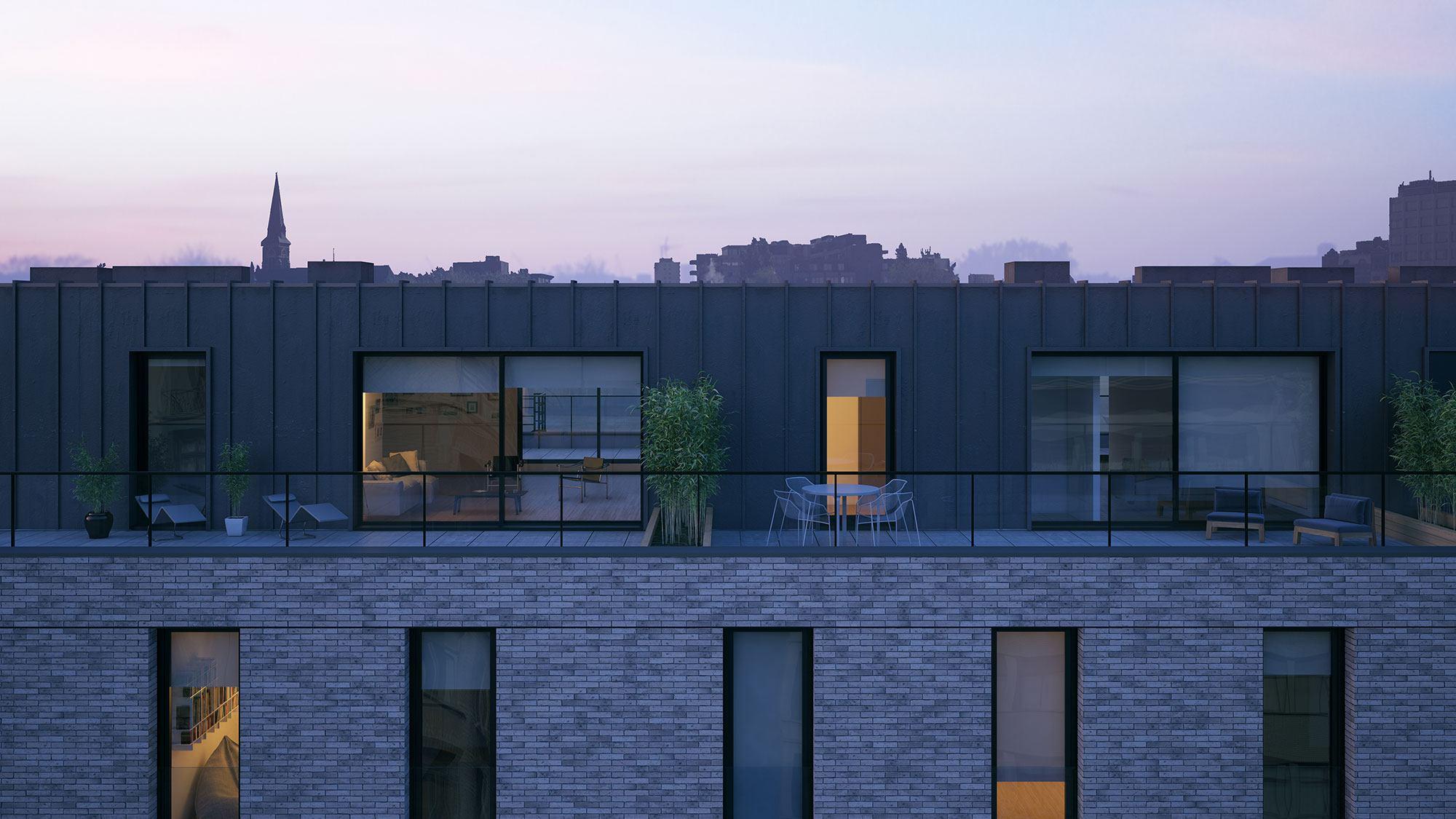 antwerpen-residentie-bouwhuis-terras-avond
