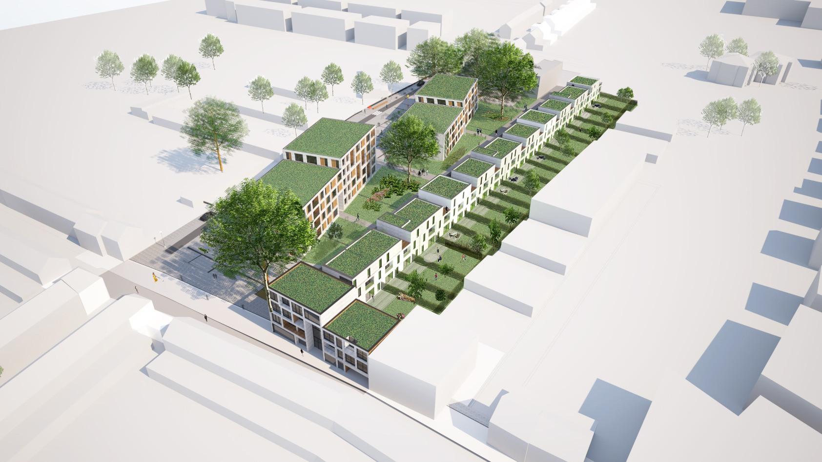 Splichal ovg architecten for Grondplannen woningen