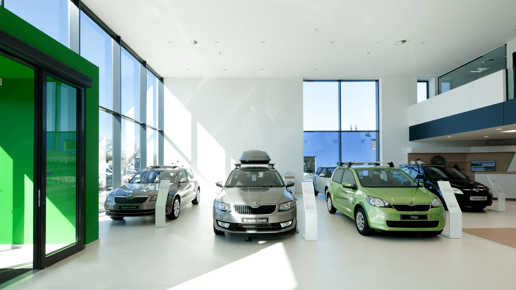 Skoda thuy ovg architecten for Garage skoda 92